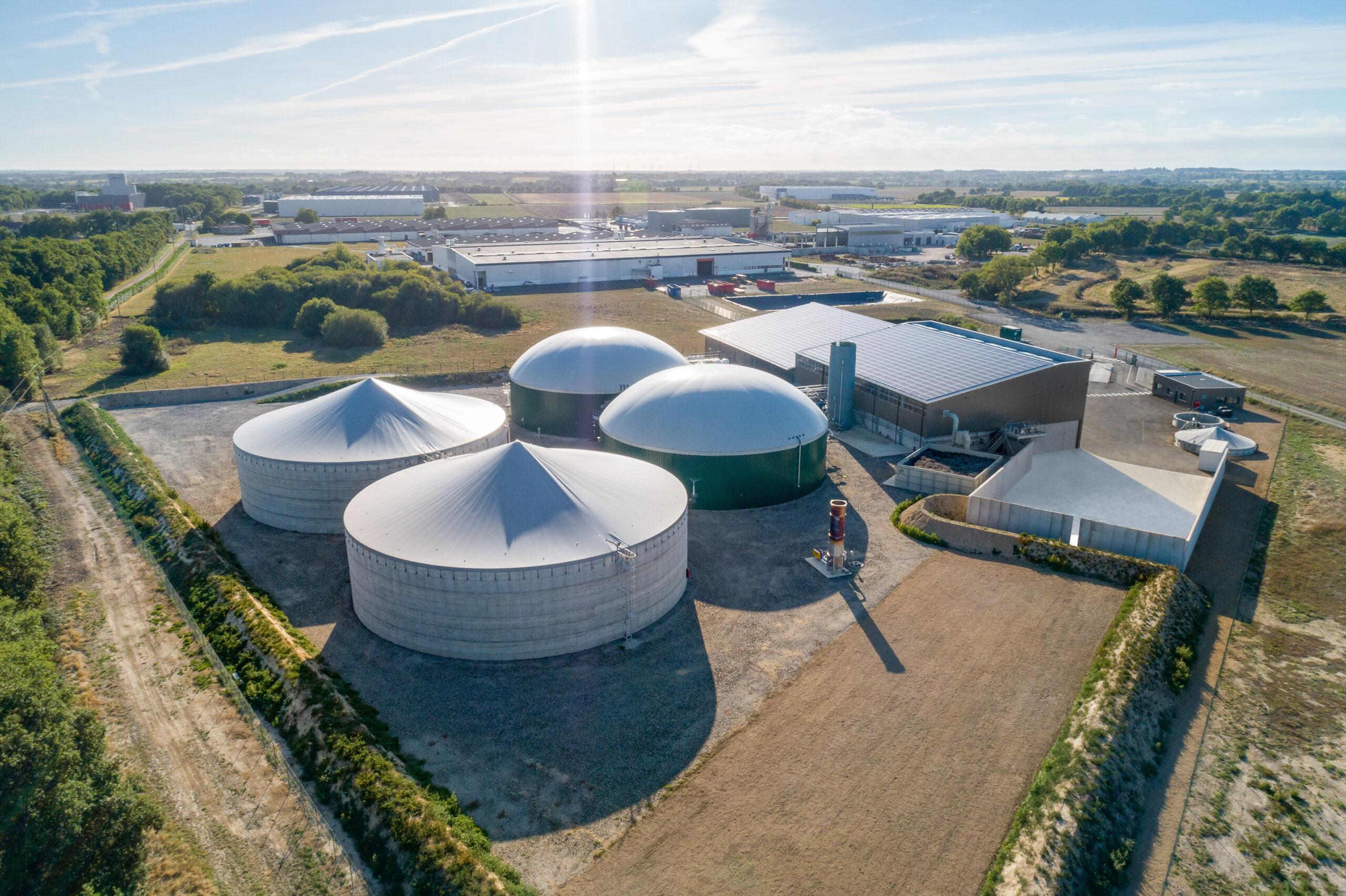 L'inauguration de l'unité de méthanisation à Montaigu-Vendée - Vendée Info